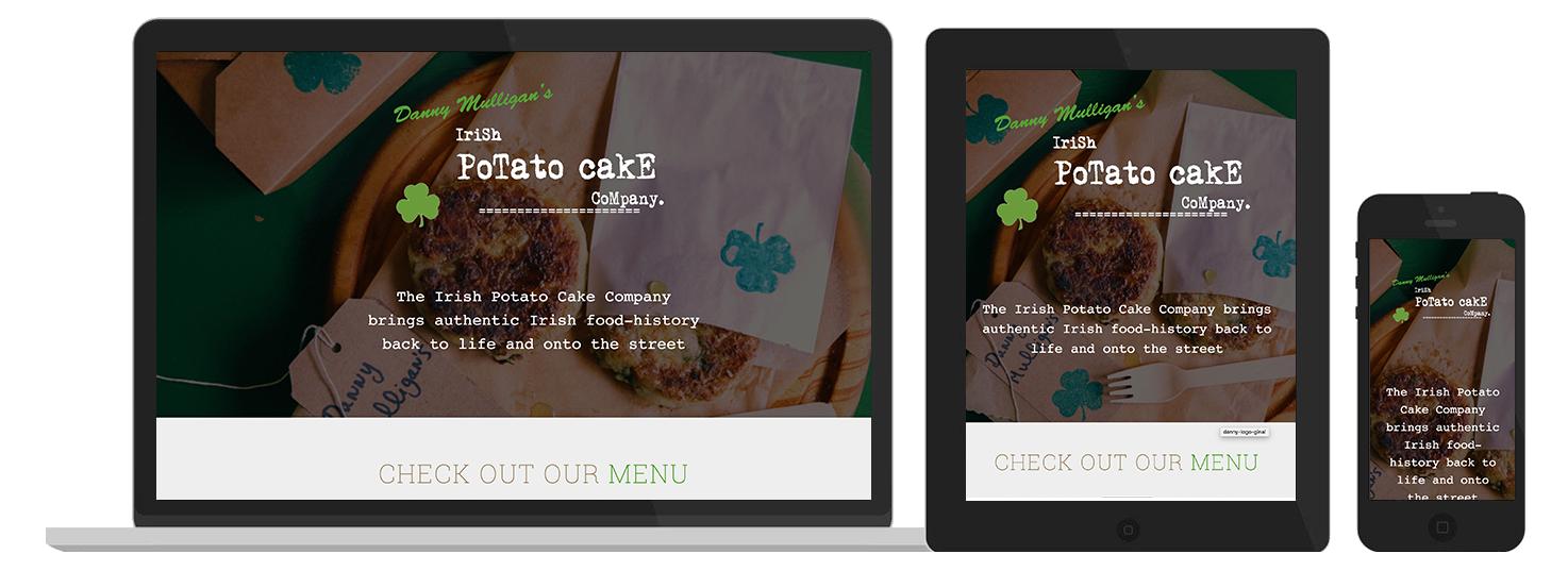 Potato Cake Web Design preview